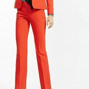 EXPRESS red editor trouser dress pant